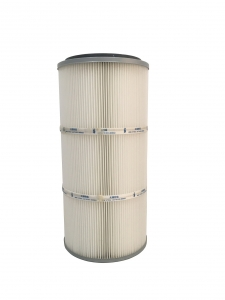 spun bonded polyester air filter cartridge